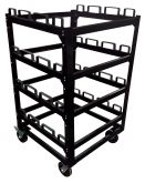 Storage Cart - For Stanchion Posts