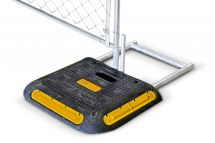 Yellow BigFoot Fence Panel Ballast Weight