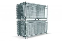 8 ft Linemaster Crowd Control Barrier  | 30-Rack Bundle