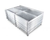 Temporary Fence Panel Rack bundle w/ Base Options