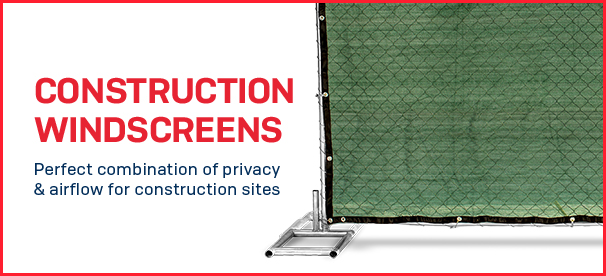 construction windscreens