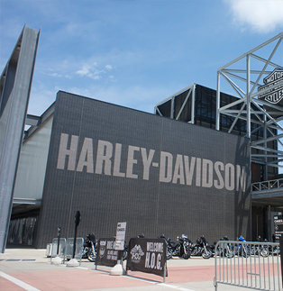 Harley Davidson Museum - Steel Barriers Covers
