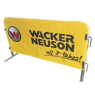 Wacker Neuson - Vinyl Fitted Cover