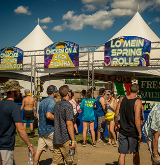 MoonRise Festival - Coreplast Signs