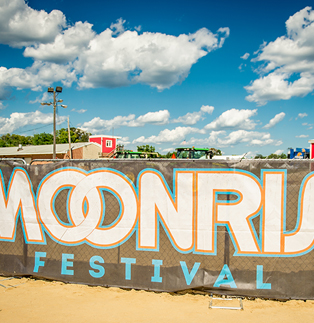 MoonRise Festival - Custom Fence Screen
