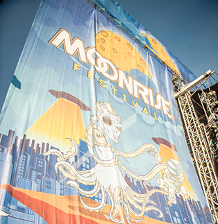 MoonRise Festival - Stage Scrims