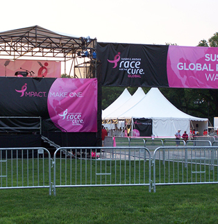 Race for the Cure - Classic Barricades