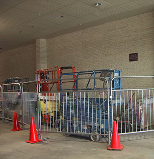 Sonco Barriers will Keep your Equipment Protected