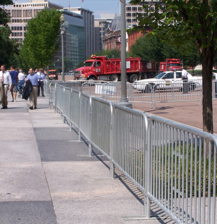 Steel Barricades Help Protect Pedestrians on any Job Site