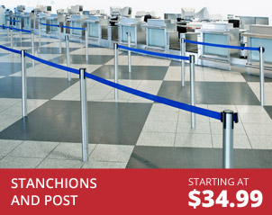 Stanchions and Post