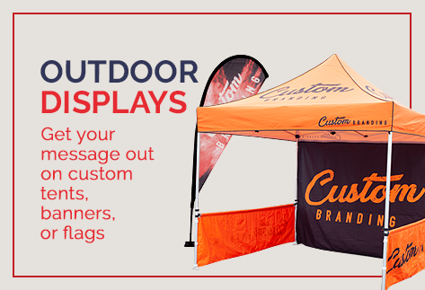 Custom Signs - Barricade covers, fence screen, stage signs | Sonco